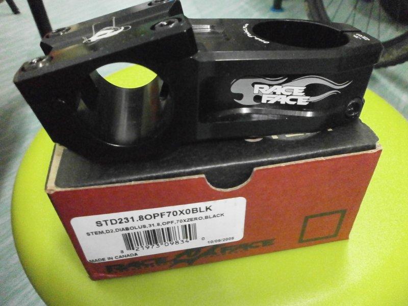 HALF PRICE NOW--- Race Face Diabolus D2 Stem 1 5(38 1mm)