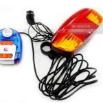 Multifunctional bike turn light bicycle rear light