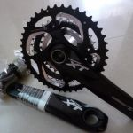 Cheap!!! Shimano Deore XT Black Crankset - One Last unit Clearance OFFER!!