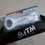 ITM Alcor80 WHite Stem 90/100/110mm