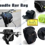 B-SOUL Handle Bar Bag ( Come With Rain Coat )