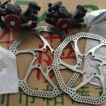 Avid BB5 brakeset (include Rotor,all nut)  Free Courier