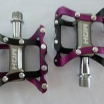 MDH PVB03 Pedals - Purple/Black