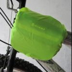 Bicycle Bag top tube - with rain coat