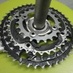 easy uphill---chainring 22 T and 24 t  (black colour only)
