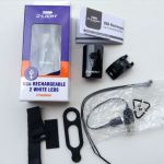 D-Light Rechargeable 4 Function Front Light