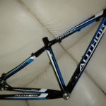 "Clearance Last piece RM599 Sale: Author Instinct 17"" tripple butted frame"