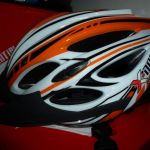 Clearance Sale !!! X-Dot CH003 Orange In-Mould Helmet