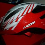 Clearance Sale - Lazer Helmet - White/Red