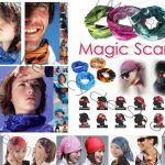 Multifunction Magic Scarf / Bandana(Over 180++ type Design/pattern)