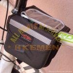 Fly Wolf Knight Bike Front Frame Toptube Hard Case