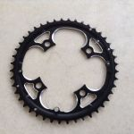 Shimano/SRAM Compatible Chain Ring CNC Made 44T --  free courier