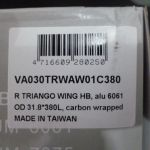ITM R Triango Wing 380mm+400mm Road Bar - last piece clearance offer at rm289