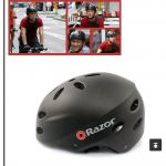 Razor Folding/MTB Safe Helmet  -- free courier