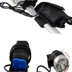 USA Cree XML T6 LED Headlight 1200 lumens (6400mah)