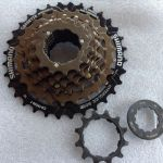 Shimano Caset 7speed Lock Type @ free pos