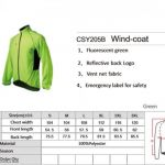 Original ~ Spakct windproof cycling jacket with fluorescence