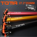 ORIGINAL!!! TOTTA AL6061-T6 SUPER LIGHT WEIGH CNC SEATPOST 27.2mm x 350mm