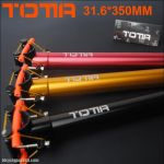 ORIGINAL!!! TOTTA AL6061-T6 SUPER LIGHT WEIGH CNC SEATPOST 31.6mm x 350mm