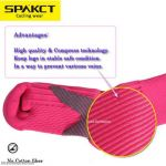 Professional cycling compression stockings