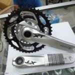 Shimano Deore XT Crankset - taken out from new bike - brand new set