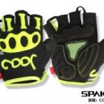 Skeleton style half fingers gloves for cycle (2015)