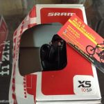 Sram X5 Front Deraileur 2-3/10speed / Taiwan Made  (free pos w.m)