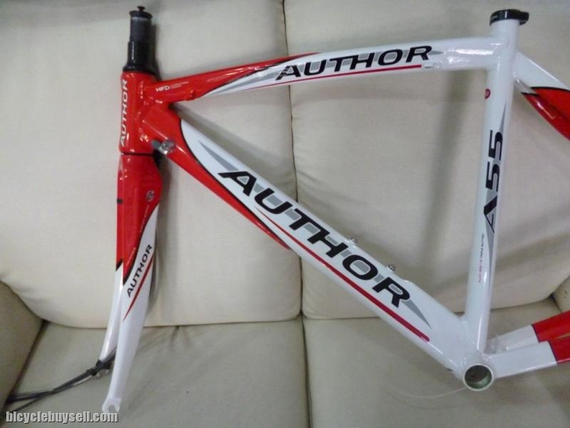 Author A55   Tripple Butted Frameset With CArbon Fork   700c Road Bike Frame  + FREE HEADSET