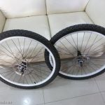 Alexrim Wheelset with Shimano Hubset - 26inch - Letting go fast