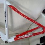 Author A55 - Tripple Butted Frameset with CArbon Fork - 700c Road Bike Frame + FREE HEADSET