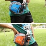 Sport Waist Bag With Bottle Holder