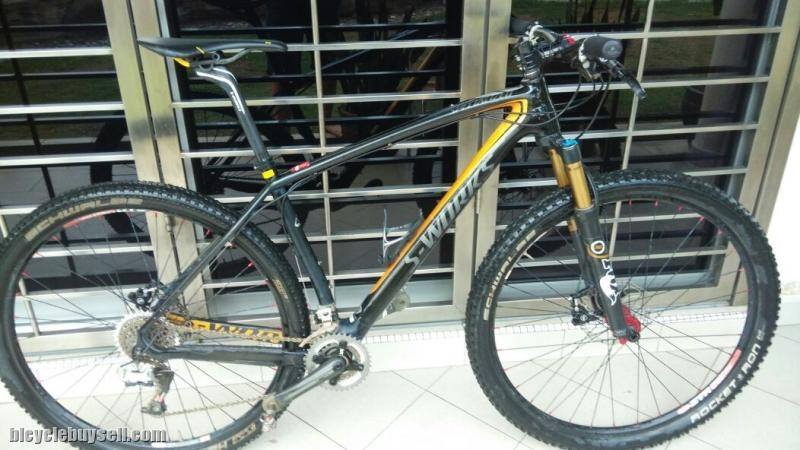 2013 Specialized Stumpjumper HT 29er Sworks (L SIZE)