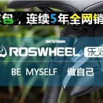 Original ~ Roswheel Bicycle Storage Tail Bag