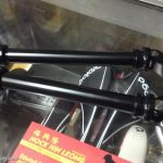 Thhu Axle 15mm QR - Alloy Black (free pos w.m)