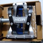 MDH PVB01 - Silver/Black - 100% CNC with aluminium pins - Superlight Sealed Bearing Pedals
