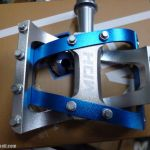 MDH PVB01 - Blue / Silver - 100% CNC with Aluminium Pins - Superlight Sealed Bearing PEdals