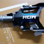 MDH PCA03 - Black/Blue - 100% CNC with aluminium pins - Superlight sealed bearing Pedals