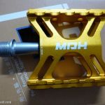MDH PCB04 - Gold - 100% CNC - Superlight SEaled Bearing PEdals with DU