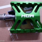 MDH PCB04 - Green - 100% CNC - Superlight Pedals with Sealed Bearing / DU