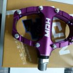 MDH PCA01 - Purple - 100% CNC with Aluminium Pins - Superlight pedals with SEaled Bearing