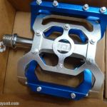 MDH PVC02 - Varieties of color - 100% CNC with aluminium pins - Superlight SEaled Bearing Pedals