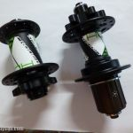 CRODER Enduro Hubset (Front 15mm / Rear 9mm) - Enduro Bearing - Fully Convertable