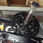 Ixf 10speed Hollow Crankset 170mm (free pos w.m)