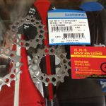 Shimano Cassettes 16T For 40/42T Use (free pos w.m)