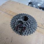 Shimano USED 9 speed cassete