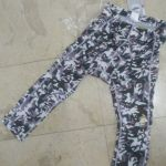 LIV 3Q Flowery Design cycling pants with padding