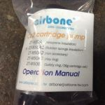 Airbone Inflator Co2/Cover co2 -- free courier