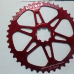 12o'clock Precision CNC 42 & 40 Teeth Rear Sprocket - Lightweight and Durable AL7075 Material