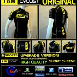For sale: I AM CYCLIST UPGRADE VERSION JERSEY BLACK (HIGH QUALITY)