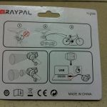 Raypal Rechargeable USB Real Lights
